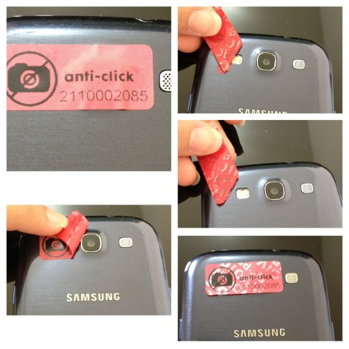 Void Anti-Click 20x10 mm